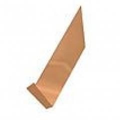 Copper Counter Gutter Flashing