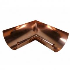 Copper Half Round Miters