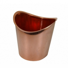 Copper Half Round Outlets