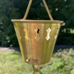 Brass & Bronze Rain Chains