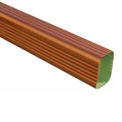 Copper Penny Aluminum Rectangular Downspouts