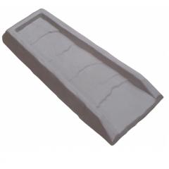 Gray Faux Slate Splash Block