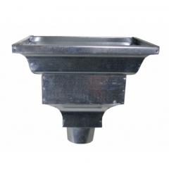 Standard Leader Head - Galvanized Steel