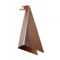 Copper K Style Gutter Wedge