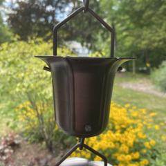 Bronze Flower Cup