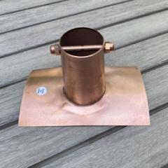 Half Round Copper Installation Kit