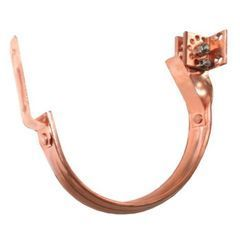 Half Round Euro Copper Adjustable Fascia Hanger