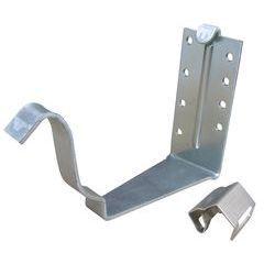 K Style Galvanized Steel 40K Fascia Hanger w/ Snap Strap