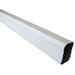Painted Aluminum Rectangular Downspouts