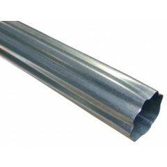 Galvanized Steel Round Corrugated Downspouts