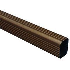Designer Copper Aluminum Rectangular Downspouts