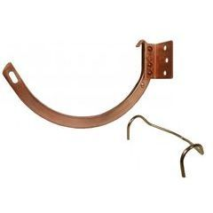Copper Half Round Gutter Hangers