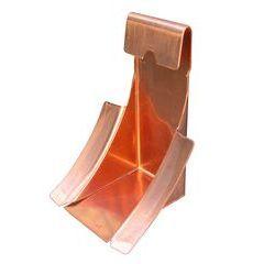 Copper Half Round Gutter Wedge