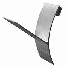 Aluminum Half Round Gutter T Wedge