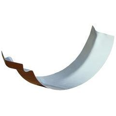 Half Round Reverse Bead Outside Bay Strip Miter