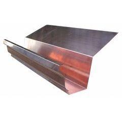 Copper K Style Highback Gutters