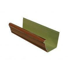 Copper Penny Aluminum K Style Gutters