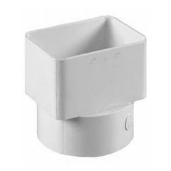 Flush Downspout Adapters