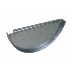 Galvanized Steel End Caps