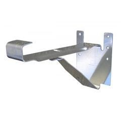 "K Style Aluminum 8"" Heavy Duty Hanger"