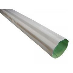 Painted Aluminum Round Corrugated Downspouts