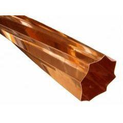 Copper Decorative Downspouts