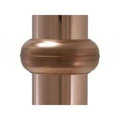Euro Copper Downspout Bracket Cover